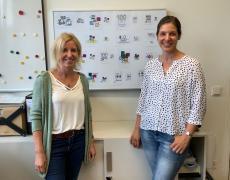 Tanja Kern und Sandra Hüttl